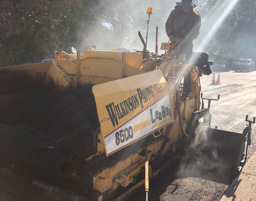 Asphalt/Paving Projects